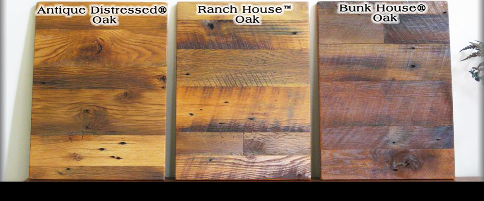Three ways we slice reclaimed oak!