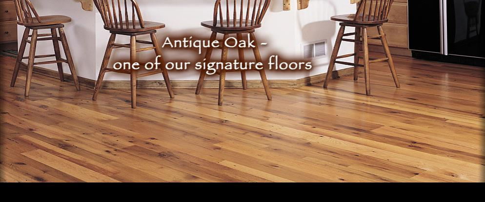 Reclaimed Antique Oak - local residence - York, PA